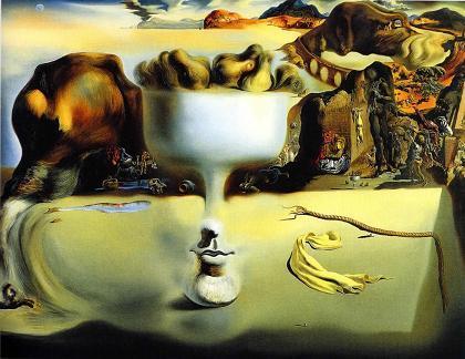 サルバドール・ダリ (海辺に出現した顔と果物鉢の幻影) img_2.jpg