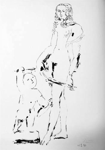 s500_Venus and Cupid,after Cranach Ⅲ_Pablo Picasso.jpg