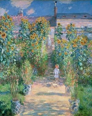 クロード モネ ヴェトゥイユの画家の庭.jpg