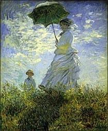 モネ 日傘の女性 モネ夫人と息子.jpg